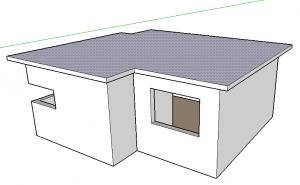 espessura de laje do telhado