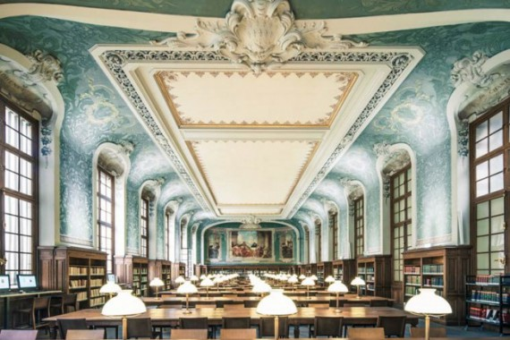 As Mais Belas Bibliotecas do Mundo, por Franck Bohbot