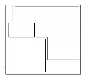 superfície do telhado no sketchup