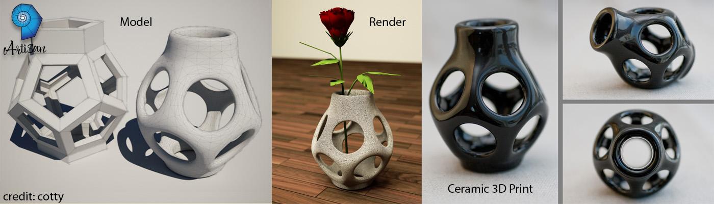 artisan vases