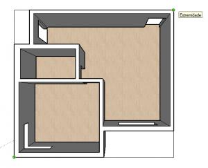 etapas para fazer telhado no sketchup