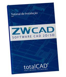 tutorial de instalação zwcad